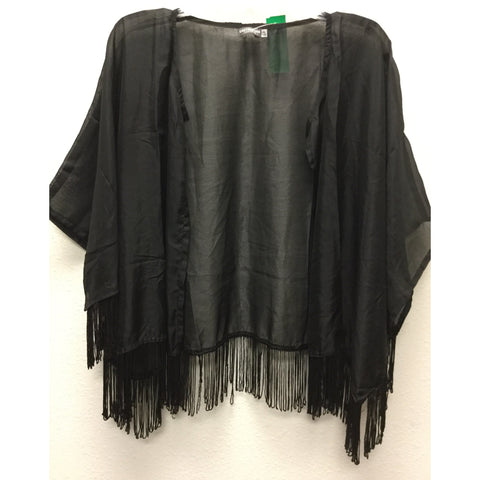 Earthbound Black Duster One Size