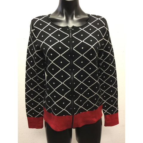 Chico's Zipper Cardigan Medium