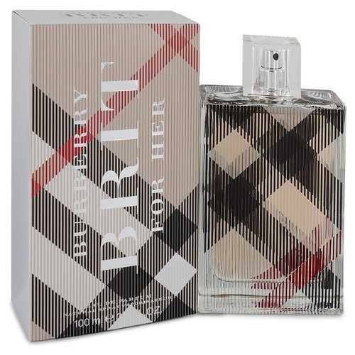 Burberry Brit by Burberry Eau De Parfum Spray 3.4 oz (Women) - Beltran's Enterprise