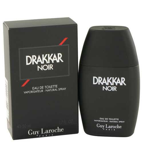 DRAKKAR NOIR by Guy Laroche Eau De Toilette Spray 1.7 oz (Men) - Beltran's Enterprise