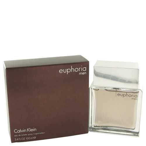 Euphoria by Calvin Klein Eau De Toilette Spray 3.4 oz (Men) - Beltran's Enterprise