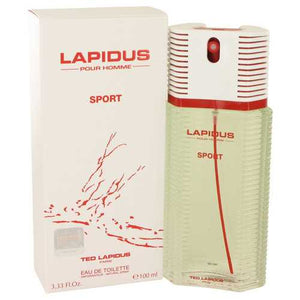 Lapidus Pour Homme Sport by Lapidus Eau De Toilette Spray 3.33 oz (Men) - Beltran's Enterprise