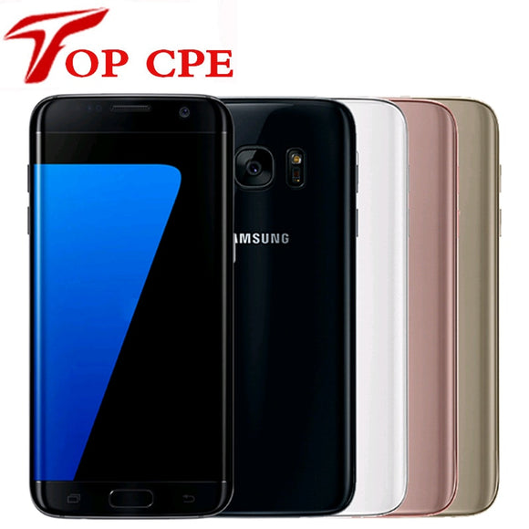 Samsung Galaxy S7 Edge G935F & G935V Smartphone 5.5'' 4GB RAM 32GB ROM WIFI Single SIM 12MP 1080P 4G LTE Quad Core Mobile Phone - Beltran's Enterprise