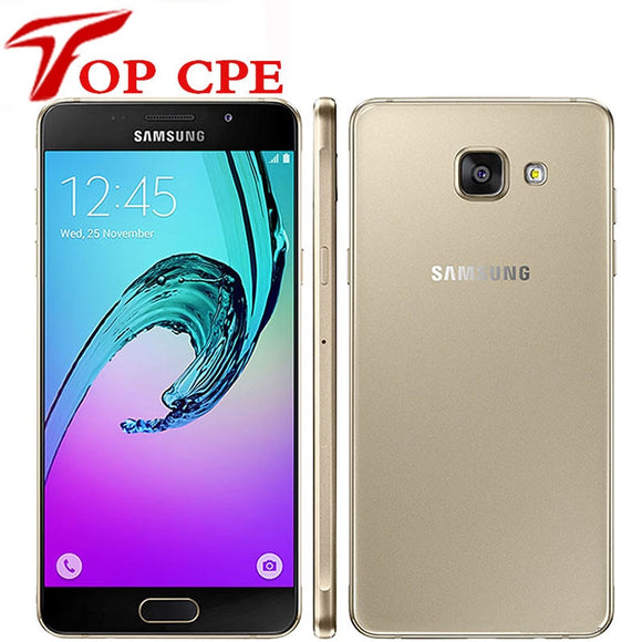 Unlocked Original Samsung Galaxy A5 2016 A5100 Cell Phone Dual Sim 5.2 Inch Quad Core Octa Cor 13MP 2G RAM 16G ROM refurbished - Beltran's Enterprise