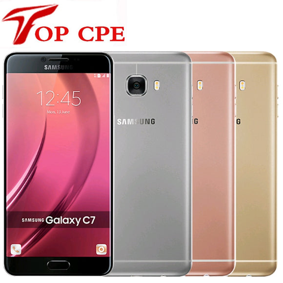 Unlocked Original Samsung Galaxy C7 C7000 4G LTE Android 4GB RAM 32/64GB ROM 16MP 5.7
