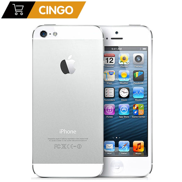 Unlocked Original iPhone 5 16GB/32GB/64GB ROM Dual-core 3G 4.0 - Beltran's Enterprise