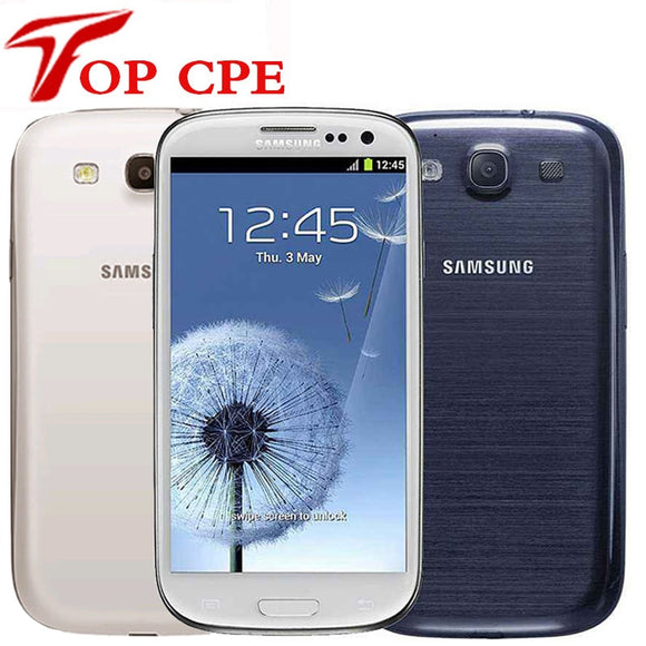 Unlocked samsung galaxy S3 i9300 original EU version Mobile Phone Quad core 4.inch 3G 8MP WIFI GSM Android GPS 16GB ROM - Beltran's Enterprise