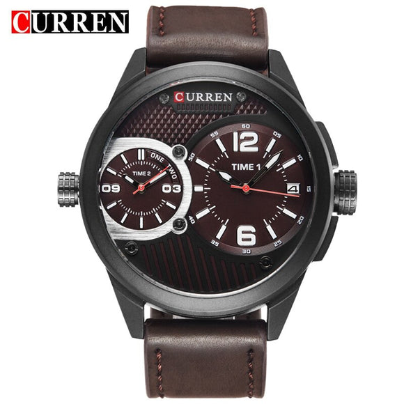 CURREN Luxury Casual Men Watches Analog Military Sports Watch - Beltran's Enterprise