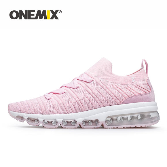 ONEMIX Sneakers Women Tennis Shoes 2019 Summer Comfortable Knitted Vamp Air Trainer - Beltran's Enterprise
