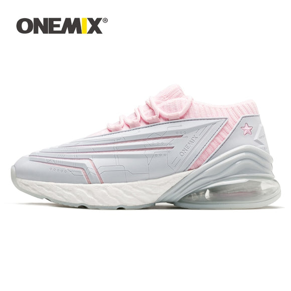 ONEMIX New Sneakers Women Shoes Bullet Technology Ultralight Damping Leather Air Running - Beltran's Enterprise