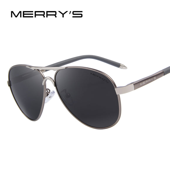 MERRY'S Men Classic Brand Sunglasses HD Polarized Aluminum Driving Sun glasses Luxury - Beltran's Enterprise
