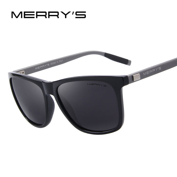 MERRY'S Unisex Retro Aluminum Sunglasses Polarized Lens Vintage Sun Glasses - Beltran's Enterprise