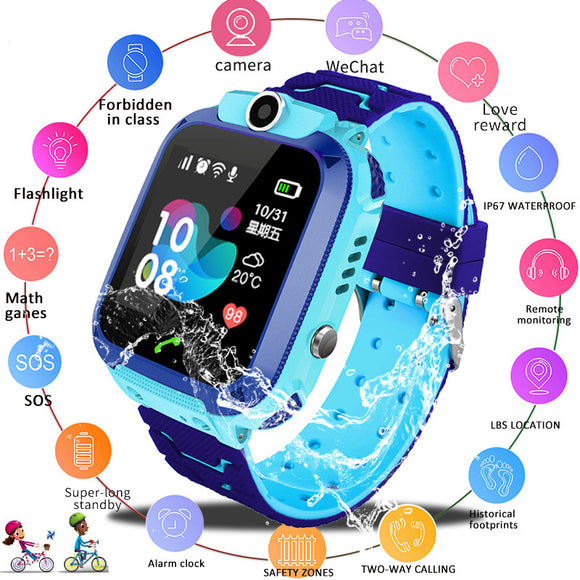 2019 New Smart watch LBS Kid SmartWatches Baby Watch for Children - Beltran's Enterprise
