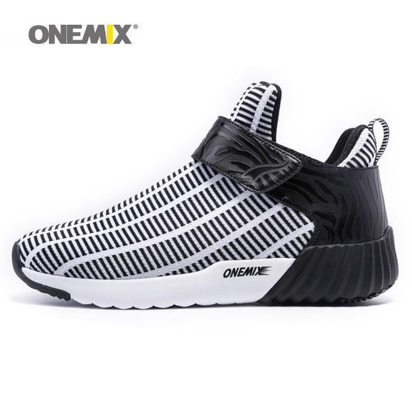 Newest Onemix warm height increasing shoes winter men & women sports shoes outdoor men's running - Beltran's Enterprise