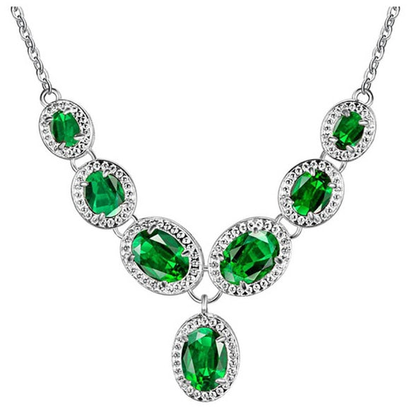 Bague Ringen Vintage Luxury Gemstones Necklace for Women - Beltran's Enterprise