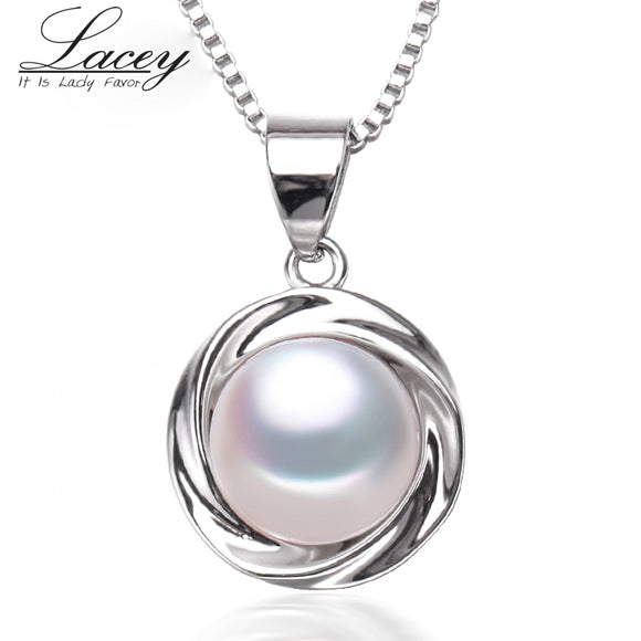 New fashion freshwater pearl pendant necklace women, real natural pearl pendant - Beltran's Enterprise