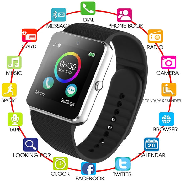 2019 Hot Women GT08 Smart Watch phone support TF SIM card MP3 - Beltran's Enterprise