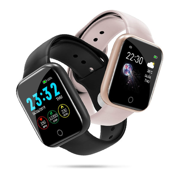 I5 For Apple Watch Pedometer Music Control Multiple Dials Heart Rate Fitness - Beltran's Enterprise