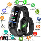 2019 New Men Smart Band Fitness Tracker Heart Rate Blood Pressure - Beltran's Enterprise