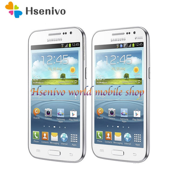 samsung galaxy win duos i8552 cell phone Android 4GB ROM Wifi GPS Quad Core 4.7