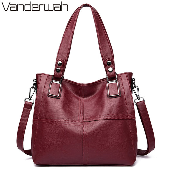 Leather Luxury Handbags Women Bags Designer Handbags Ladies Shoulder - Beltran's Enterprise