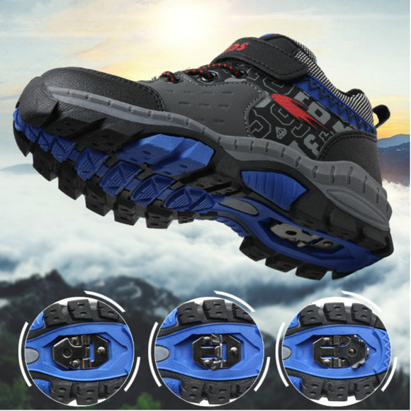 New Kids Hiking Shoes For Boys Winter Boots Teenagers Walking Mountain Climbing - Beltran's Enterprise