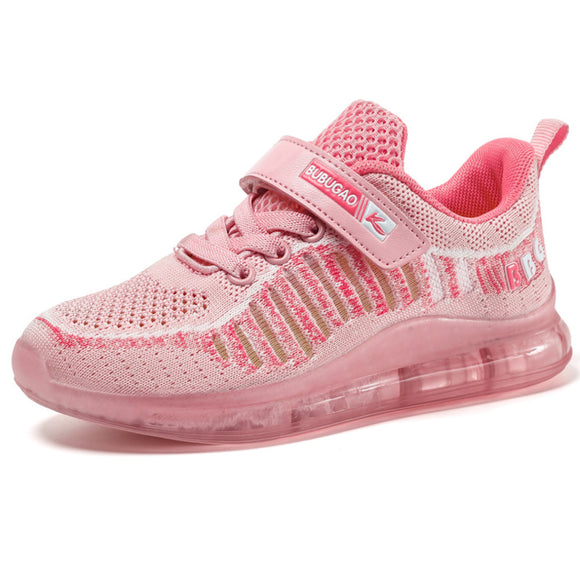 Brand Kids Sneakers Summer Breathable Girls Sports Shoes Air Sole Pink Running Shoes - Beltran's Enterprise