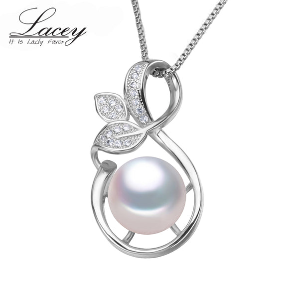 LACEY freshwater pearl pendant jewelry for women,genuine natural pearl pendant - Beltran's Enterprise
