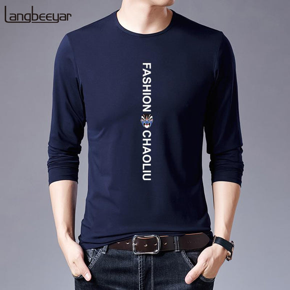 Mercerized Cotton 2019 New Fashion Brand Tshirt Men - Beltran's Enterprise