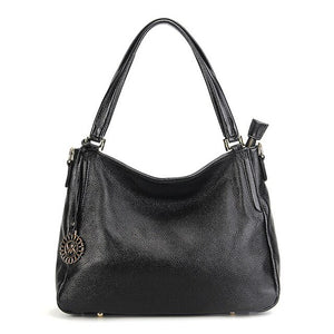 Zency 2020 New Arrival Women Shoulder Bag Lychee Pattern 100% Genuine Leather European - Beltran's Enterprise