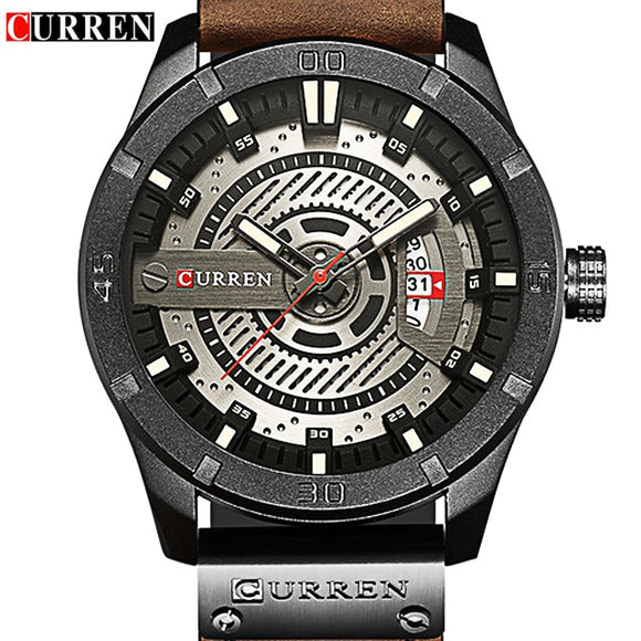 ASAP! CURREN 8301 Luxury Brand Watches Man Watches Men Men's Watch Quartz - Beltran's Enterprise