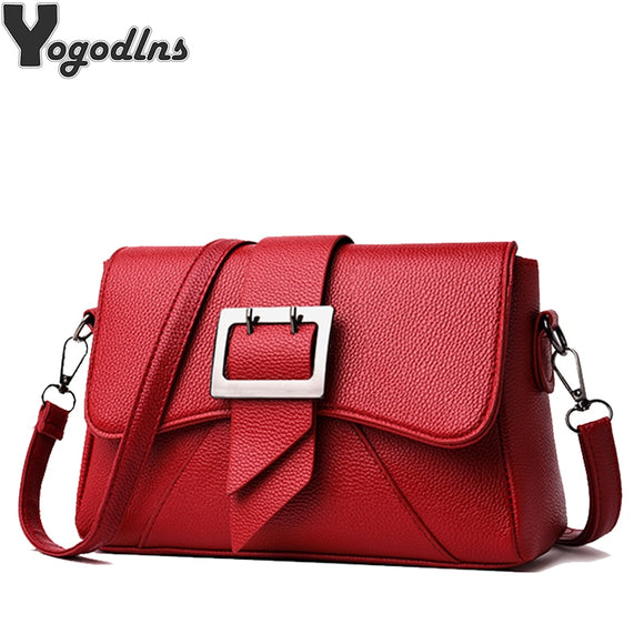 High Quality Soft pu Leather Women Handbag Luxury Design Messenger Shoulder Bag Fashion - Beltran's Enterprise