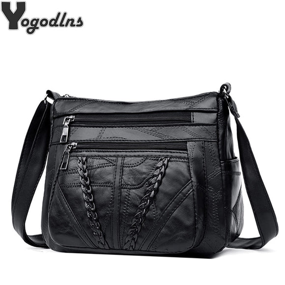 Women Messenger Bag Lady High Quality Shoulder Crossbody Bag Female Casual - Beltran's Enterprise