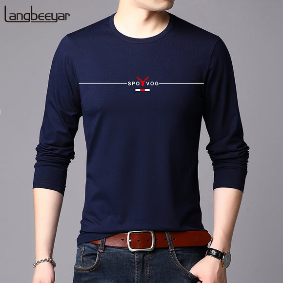 2019 New Fashion Brand Tshirt Mens High Quality Cotton Tops  Street Style Trends - Beltran's Enterprise
