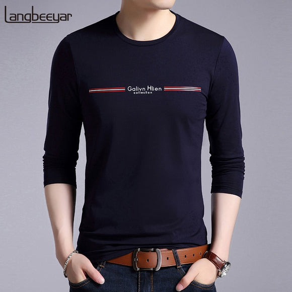 2019 New Mercerized Cotton Fashion Brand T Shirt - Beltran's Enterprise