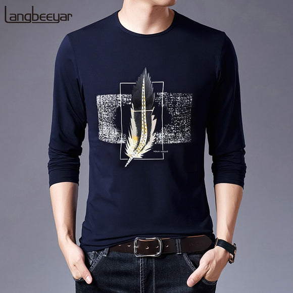 2019 Mercerized Cotton New Fashion Brand T Shirt For Men - Beltran's Enterprise