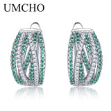 UMCHO Sterling Silver 925 Jewelry Elegant Clip Earrings for Women Anniversary Wedding Gift Earrings - Beltran's Enterprise