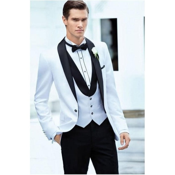 Terno New Style Men's Business Suits Men High Quality Wedding Single Button Suit Jacket Coat - Beltran's Enterprise