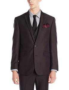 men suits Single Breasted blue grey Two Button Wedding Suits for Men Classic men's Clothing - Beltran's Enterprise