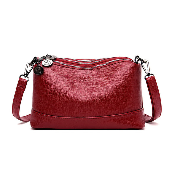 3 Layers Luxury Handbags Women Bags Designer Soft Leather Handbags - Beltran's Enterprise
