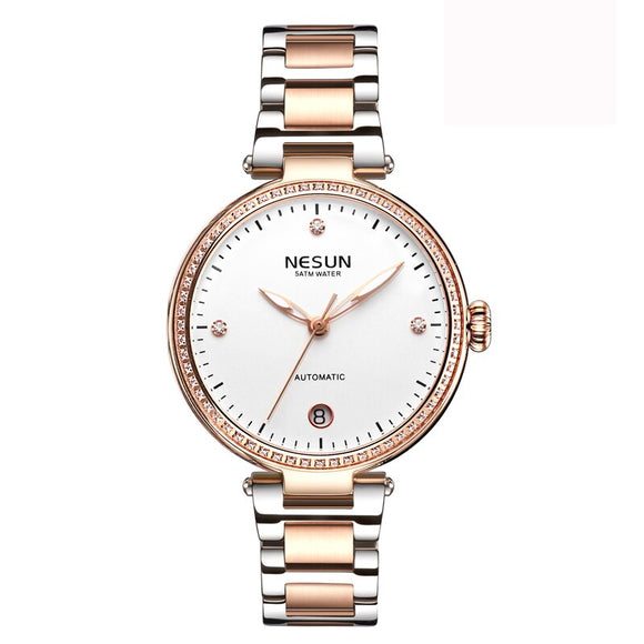Woman Watches Nesun Japan Miyota Automatic Mechanical - Beltran's Enterprise