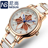 New Switzerland Nesun Women's Watches Luxury Brand Quartz Watch - Beltran's Enterprise