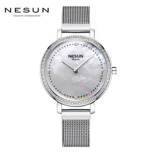 Switzerland Luxury Brand NESUN Women's Watches Japan Quartz Watch - Beltran's Enterprise