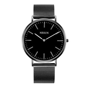 Switzerland Nesun Watch Men & Women Luxury Brand Japan MIYOTA Quartz Movement Lover's Watches Sapphire Waterproof clock N8801-W2 - Beltran's Enterprise