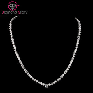 LUOTEEMI  Simple Style Cute Necklace Shining CZ Stone - Beltran's Enterprise