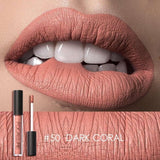 FOCALLURE Nude Color Liquid Lipstick Long-lasting Waterproof - Beltran's Enterprise