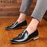 Formal Shoes Men Classic Leather Shoes Men Elegant Coiffeur Dress Shoes Men - Beltran's Enterprise