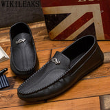 Mens Casual Shoes Hot Sale Mens Loafers Leather Driving Shoes Luxury - Beltran's Enterprise