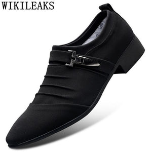 Wedding Shoes For Men 2020 Classic Shoes Men Dress Loafers Casual Shoes Men - Beltran's Enterprise