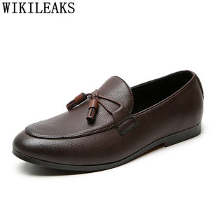 Loafers Suit Shoes Wedding Shoes For Men Fashion Leather Shoes Men - Beltran's Enterprise